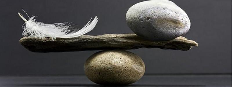 Psikolojik Dengeyi Bulmak için Doğal taşlar