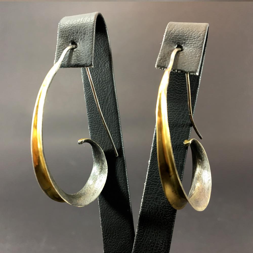 Helen Tasarım 925 Ayar Gümüş Küpe | ID00170