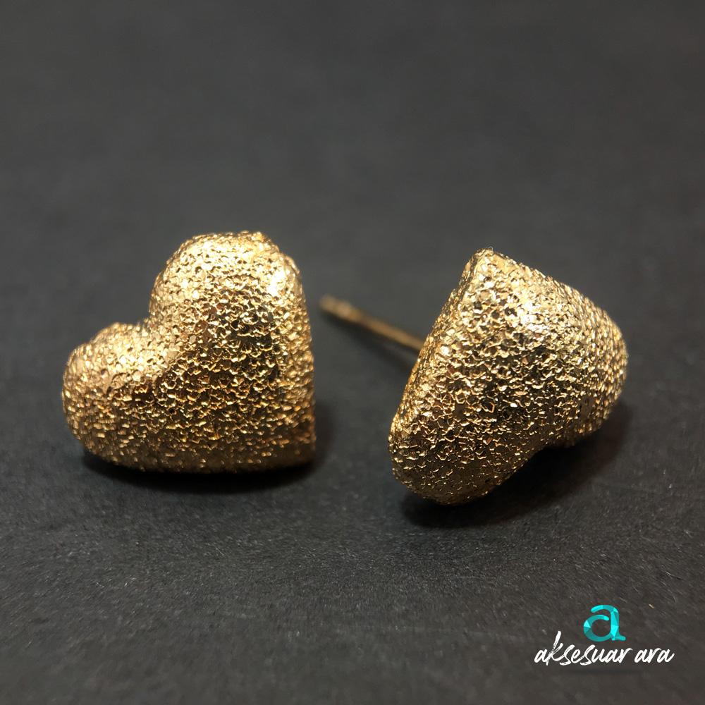 Gold Love Bayan Küpe | ID00214