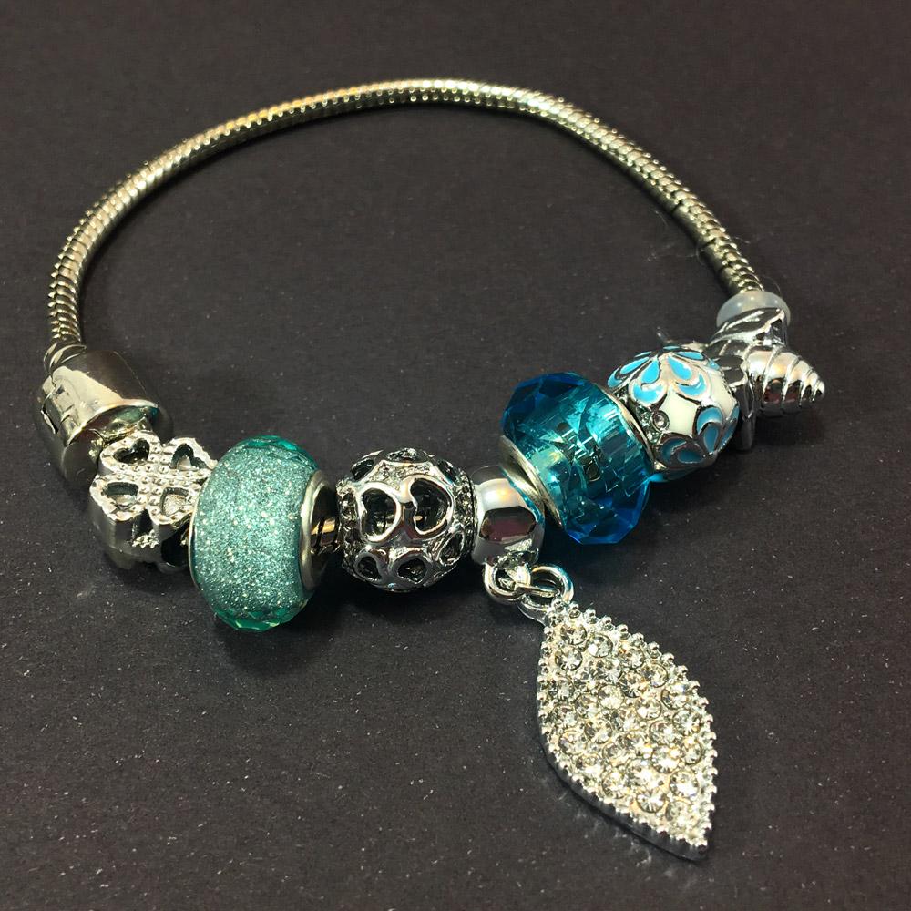 Blue Charm Bayan Bileklik | ID00278