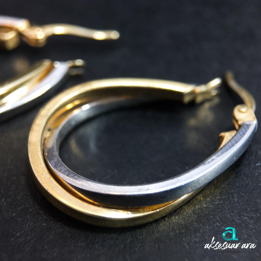 Air 925 Ayar Gümüş Tasarım Küpe | ID00309